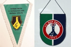 Devín, klubové vlajky