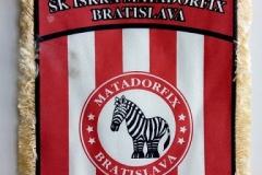 Vlajka Matadorfixu so zebrou...