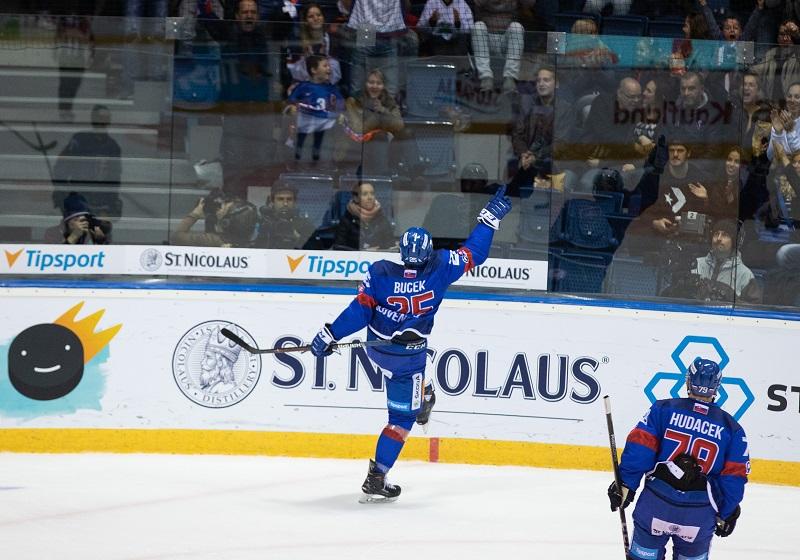 Samuel Buček bol hlavnou hviezdou zápasu proti Rusom.