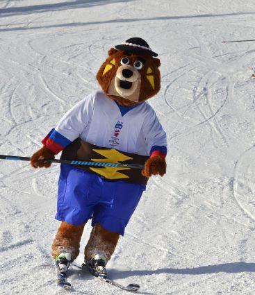 Macejko, maskot MS 2019 v hokeji