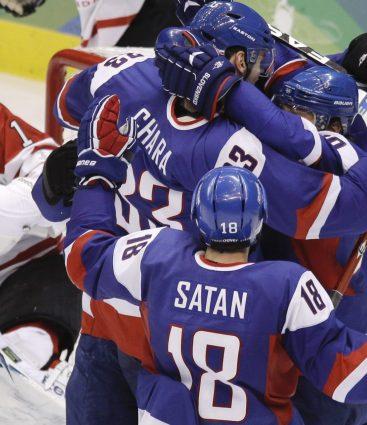 Slovensko hokejová zostava snov