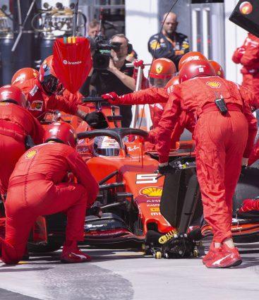 Ferrari Formula 1 pit stop