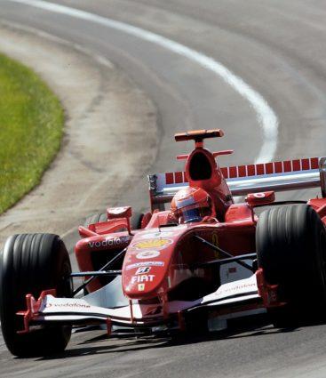 Schumacher Indianapolis Ferrari