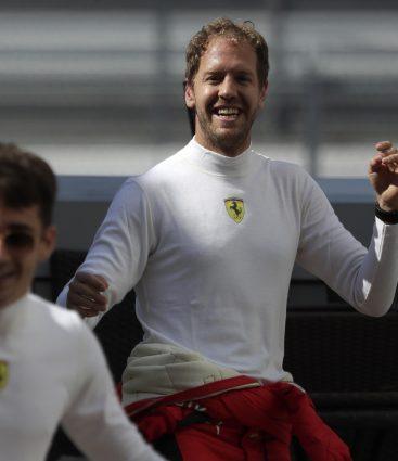 Vettel Ferrari formula