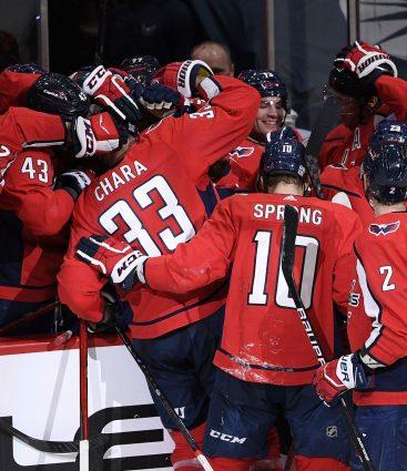 Zdeno Chára gól Washington Capitals NHL