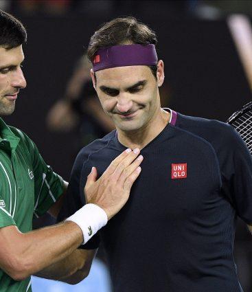 Djokovic Federer Australian OPen