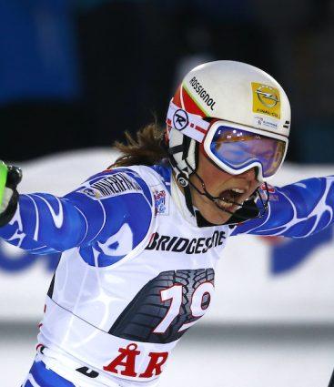 Petra Vlhová. lyžovanie