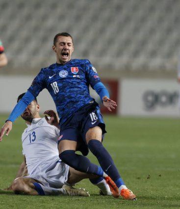 Cyprus - Slovensko futbal