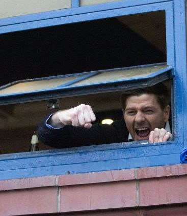 Steven Gerrard Glasgow Rangers