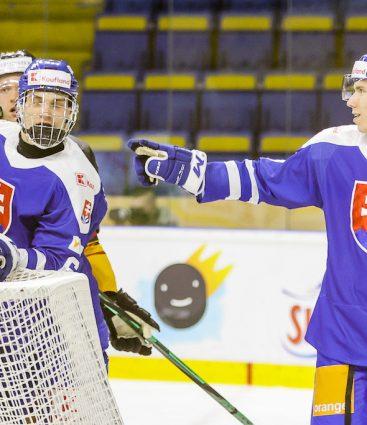 Andrej Kollár Juraj Slafkovský hokej
