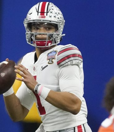 Justin Fields pred drafrom do NFL