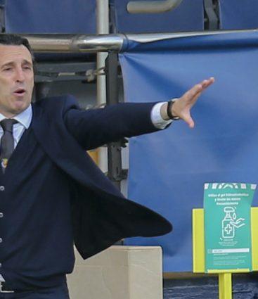 Unai Emery tréner Villarealu a semifinále EL proti Arsenalu