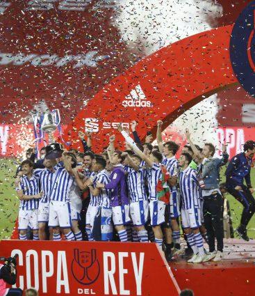Copa del Rey Real Sociedad San Sebastian