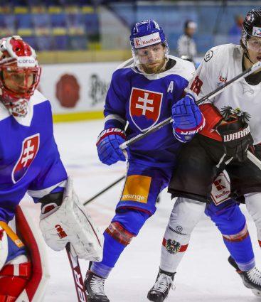 Slovensko proti Rakúsku v príprave na MS 2021