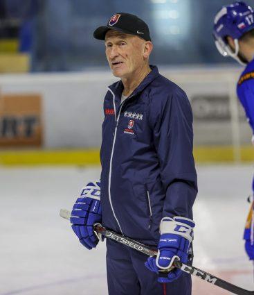 Craig Ramsay tréner slovenskej hokejovej reprezentácie