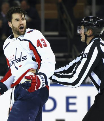 Tom Wilson je záporný hrdina NHL