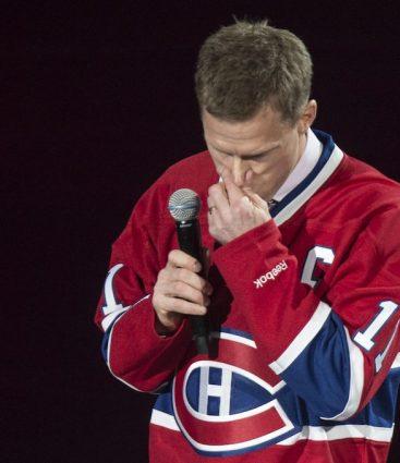 Saku Koivu Montreal Canadiens