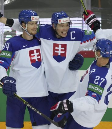 Slovensko porazilo Rusko na MS 2021 v hokeji