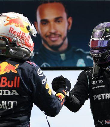 Víťaz Hamilton a druhý Verstappen po veľkej cene Portugalska