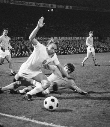 Československo futbal v zápase proti Holandsku