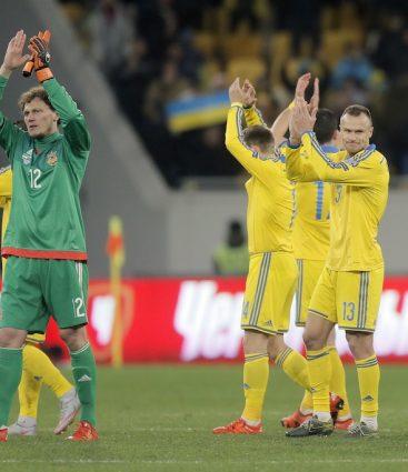 Ukrajina futbal