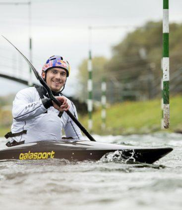 Jakub Grigar vodný slalom