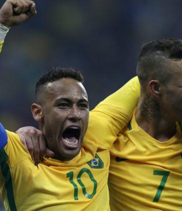Neymar v Riu olympiada tokio 2020