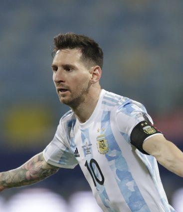 Lionel Messi futbal