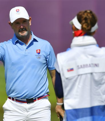 Rory Sabbatini golf tokio 2020 manželka Martina