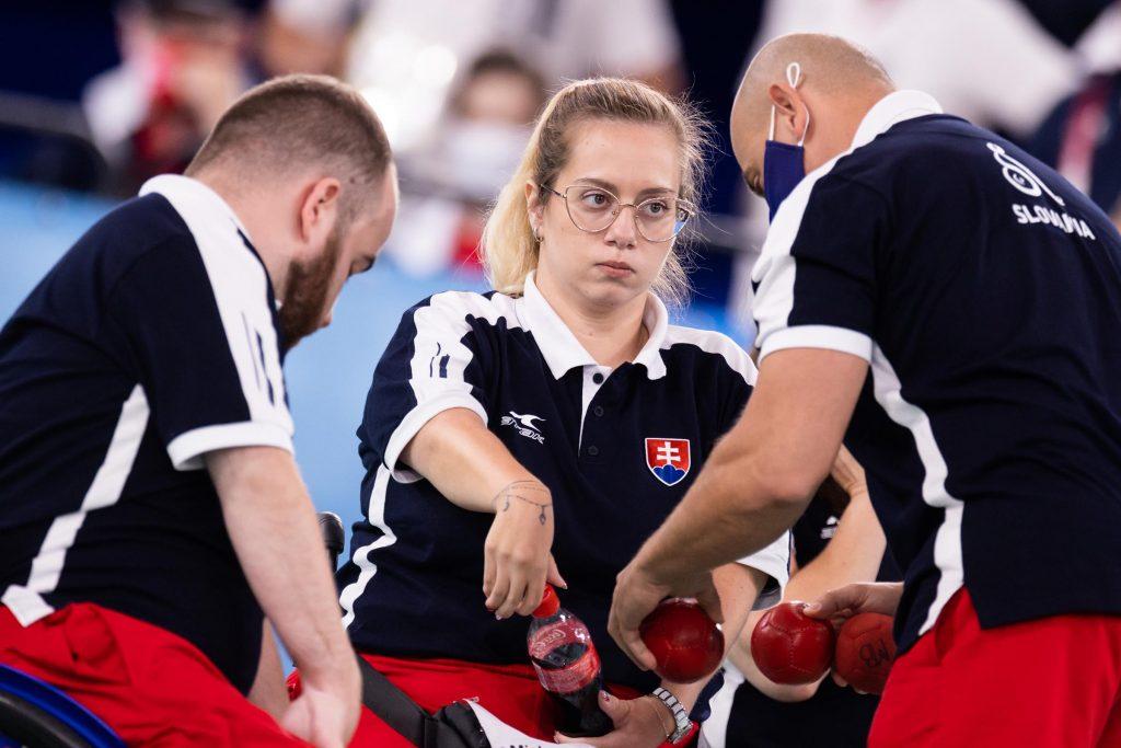 Boccia paralympiáda Slovensko