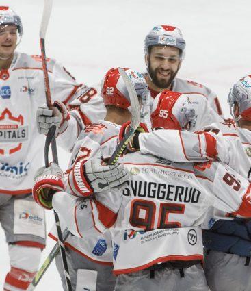 Bratislava Capitals v zápase Ice hockey League